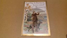 Chromo, Image Ancienne, Huntley & Palmers Fabricants De Biscuits Et De Gâteaux, Reading & London - Confiserie & Biscuits