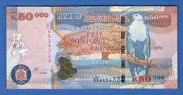 Zambie  50.000  Kwacha  208 - Zambie