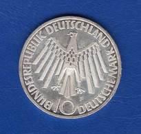 10 Mark  1972 - [ 7] 1949-… : RFA - Rép. Féd. D'Allemagne