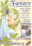 BD - Flyer - Magazine Khimaira : Fantasy & Fantastique[2006] - Bücher, Zeitschriften, Comics
