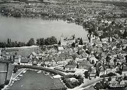 RAPPERSWIL Flugaufnahme Gel. 1953 N. Seewen - SG St. Gall