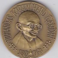 PORTUGAL MEDAL - MOHANDAS KARAMCHAND GANDHI - INDIA - 1869/1948 - Royal / Of Nobility