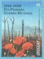 Uruguay 2018 ** Fin De La Primera Guerra Mundial. - Prima Guerra Mondiale