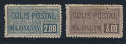 FRANCE    N°   79   /  80 - Parcel Post