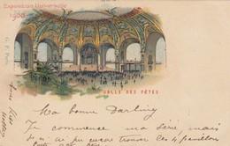 CARD.  FRANCE. 1900. EXPOSITION UNIVERSELLE. SALLE DES FETES. PARIS TO GENEVE  /   4 - Non Classés