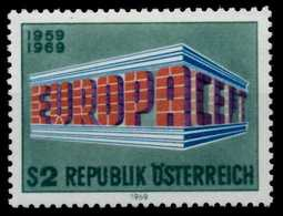 ÖSTERREICH 1969 Nr 1291 Postfrisch S58F75E - 1945-.... 2. Republik