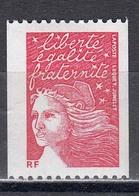 France 2002 - Type Marianne, Timbre De Roulette Sans Valeur Indiquee, № Rouge Au Verso, YT 3418B, Neuf** - France
