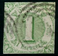 THURN UND TAXIS 1859 61 Nr 20 Gestempelt X843012 - Thurn En Taxis