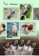 TOGO 2014 SHEET BIRDS OISEAUX AVES PASSAROS UCCELLI Tg14502a - Togo (1960-...)