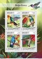 MOZAMBIQUE 2016 SHEET COLIBRIS COLIBRIES OISEAUX BIRDS AVES PASSAROS UCCELLI Moz16308a - Mozambique
