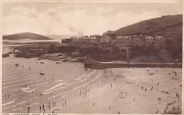 Postcard Looe Hannafore Point & Island PU 1933 To Hancock Linden Street Romford Essex My Ref  B12785 - England