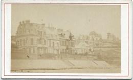 14 - Villers Sur Mer - Les Villas  - Photo Albumen Brechet - Ca 1870 - Old (before 1900)