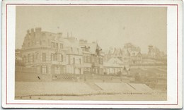 14 - Villers Sur Mer - Les Villas  - Photo Albumen Brechet - Ca 1870 - Photos