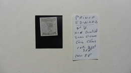 Amérique > Prince Edouard (Ile) :timbre Neuf N° 7 Sans Gomme Non Dentelé  Gris - Prince Edward (Island)
