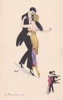 LE TANGO. TOUTE A VOUS. SAGER XAVIER ILLUSTRATION.. BG. CIRCA 1930s- BLEUP - Sager, Xavier