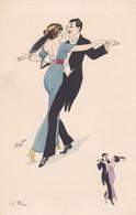 LE TANGO. SAGER XAVIER ILLUSTRATION.. BG. CIRCA 1930s- BLEUP - Sager, Xavier