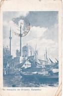 LA MEZQUITA DE ORTAKOY, ESTAMBUL. TURQUIA. CIRCULEE 1935 A L'ARGENTINE - BLEUP - Turchia