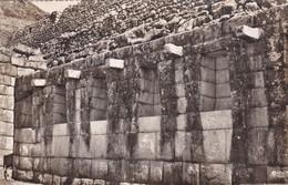MACHUPICCHU, PERU. INTERIOR DEL CUARTO DE LAS ÑUSTAS. SWISS FOTO. CIRCULEE 1955 A EEUU - BLEUP - Peru
