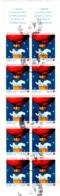 Carnet N° 2045 De 10 Timbres N°3039a Croix Rouge 1996 Oblitéré TBE NON PLIE - Carnets