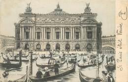 CPA SURREALISME / PARIS / VENISE - Cartes Postales