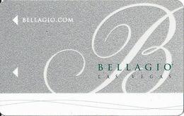 Bellagio Casino Las Vegas Hotel Room Key Card With C00254893K On The Back - Hotel Keycards