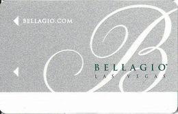 Bellagio Casino Las Vegas Hotel Room Key Card With C2-00254893K On The Back - Hotel Keycards