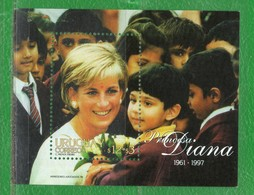URUGUAY 1998 Block Nº68 Princesa Diana 1961-1997 - Uruguay