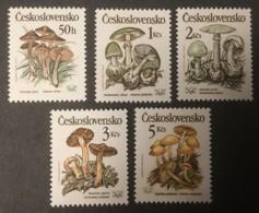 CZECHOSLOVAKIA - MNH** - 1989 - # 2758/2762 - Unused Stamps