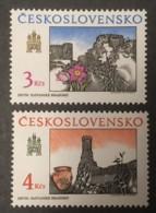 CZECHOSLOVAKIA - MNH** - 1989 - # 2763/2764 - Unused Stamps