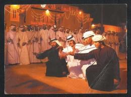 United Arab Emirates Dubai Traditional Dance Troupe Picture Postcard  AS PER SCAN - Dubai