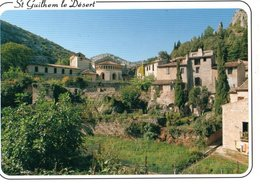 Saint Guilhem Le Desert Au Pied De L'abbatiale   CPM Ou CPSM - France