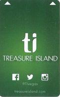 Treasure Island Casino - Las Vegas, NV - Hotel Room Key Card - Hotel Keycards