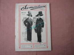 La Samaritaine 1912 /1913 Gros Catalogue HiverL 160 Pages 185X260 Mode Et Divers + Documents Divers  T.B.E. - Textile & Clothing