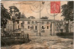 6ZA 27 CPA - SAUCATS - CHATEAU LAGULOUP - Francia