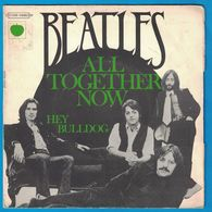 DISQUE 45 TOURS THE BEATLES ALL TOGETHER NOW / HEY BULLDOG - Vinyl Records