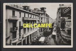 MAROC / CASABLANCA / BOULEVARD DE LA GARE / BUS / ANIMÉE / 1947 - Casablanca