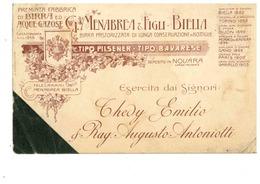BIRRA MENABREA BIELLA - Advertising