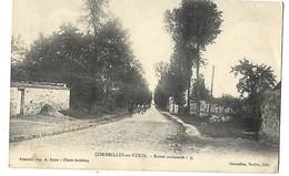 95 CORMEILLES EN VEXIN ROUTE NATIONALE 1906 CPA 2 SCANS - Cormeilles En Parisis