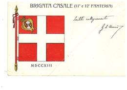 CASALE MONFERRATO BRIGATA - Guerra 1914-18
