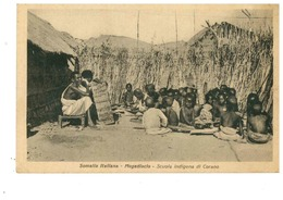 SOMALIA  ITALIANA MOGADISCIO SCUOLA INDIGENA CORANO - Somalia