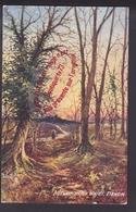 Q0011 - Autumn In The Woods DEVON - Paysage - OILETTE Raphael Tuck - Tuck, Raphael