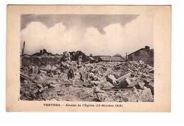 08 Perthes Ruines Grande Guerre 1914 1918 Abside De L' Eglise 12 Octobre 1918 - Otros Municipios