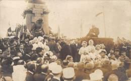 """MOSELLE  57  NOISSEVILLE  MONUMENT FRANCAIS - GUERRE 1870 71  """"EN SOUVENIR DU 31 AOUT JOUR ANNIVERSAIRE1919  CARTE PHOTO - Other Municipalities"""