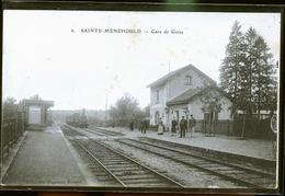 SAINTE MENEHOULD           LE GARE                                                JLM - Sainte-Menehould