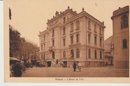 CPA - VENCE - L'HOTEL DE VILLE - GUIGOU - ARGRA - VOITURES - Vence