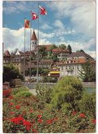 Thun: VW T2B COMBI KLEINBUS -  'Kino' Neon - Ref. Kirche - (Suisse/Schweiz) - Toerisme