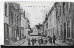 BAILLEUL  RUE DES POISSONS  GROUPE PERSONNAGES 1 PLAN    DEPT 59 - Francia