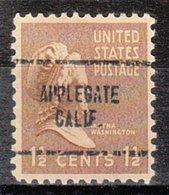 USA Precancel Vorausentwertung Preo, Locals California, Applegate 704 - Vereinigte Staaten