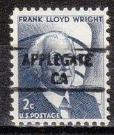 USA Precancel Vorausentwertung Preo, Locals California, Applegate 841 - Vereinigte Staaten