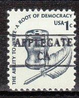 USA Precancel Vorausentwertung Preo, Locals California, Applegate 882 - Etats-Unis